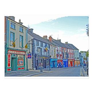 Cartão Postal Rua Tom Wurl de Kilkenny
