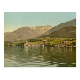 Cartão Postal Rua Wolfgang, Áustria