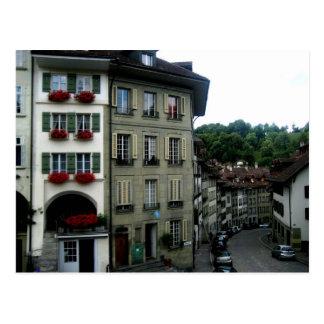 Cartão Postal Ruas de Berna