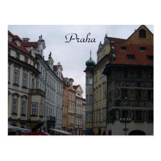 Cartão Postal ruas de praha