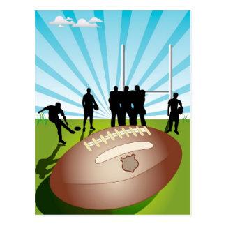 Cartão Postal Rugby