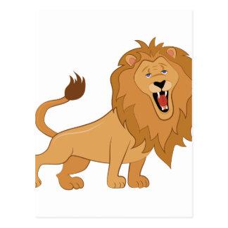 Cartão Postal Rugido do leão