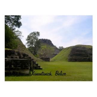 Cartão Postal Ruína maia de Xunantunich