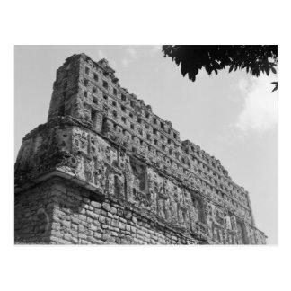 Cartão Postal Ruínas antigas: Templo 33 de Yaxchilan