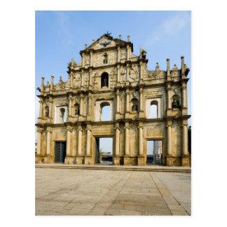 Cartão Postal Ruínas da catedral de St Paul