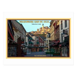Cartão Postal Ruínas do castelo de Valkenburg