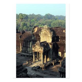 Cartão Postal Ruínas do templo de Angkor Wat, Siem Reap