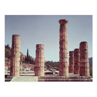 Cartão Postal Ruínas do templo de Apollo