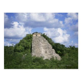Cartão Postal Ruínas maias de Coba, península do Iucatão, México