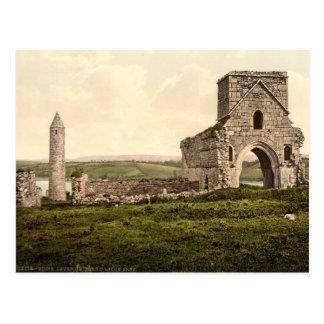 Cartão Postal Ruínas na ilha de Devenish