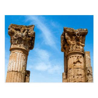 Cartão Postal Ruínas romanas da cidade
