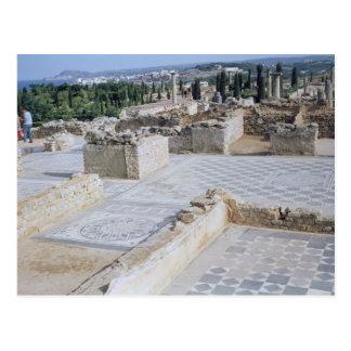 Cartão Postal Ruínas romanas do porto de Emporion