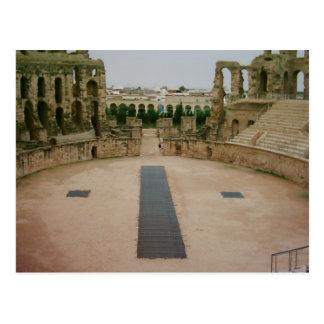 Cartão Postal Ruínas romanas Tunísia
