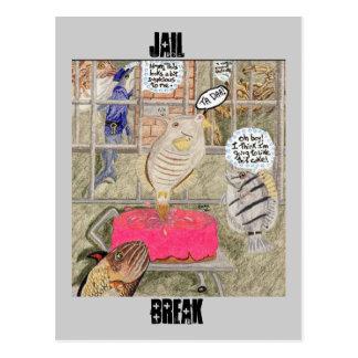 Cartão Postal Ruptura da cadeia