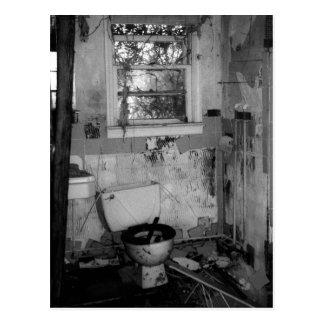 Cartão Postal Ruptura do banheiro