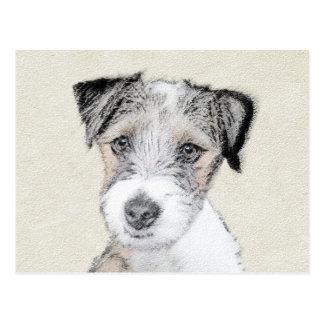 Cartão Postal Russell Terrier (áspero)