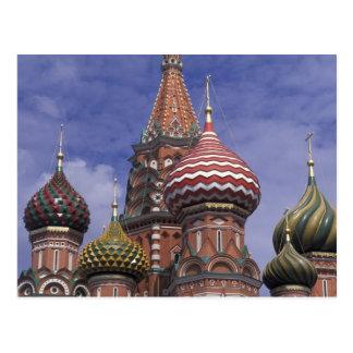 Cartão Postal Rússia, Moscovo, quadrado vermelho. cebolas