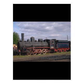 Cartão Postal Rússia, relé 0-8-0 #324_Trains do mundo