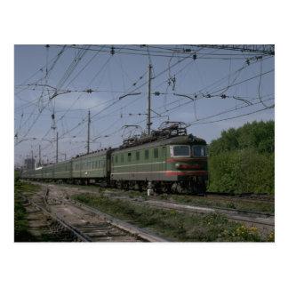 Cartão Postal Rússia, relé elétrico