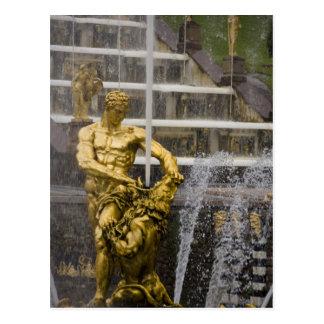 Cartão Postal Rússia, St Petersburg, Peterhoff (aka 3