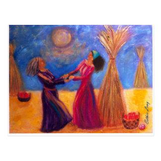 Cartão Postal Ruth e Naomi