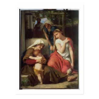 Cartão Postal Ruth e Naomi, 1859 (óleo em canvas)