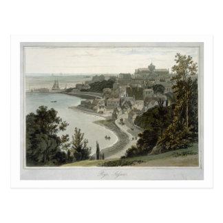 Cartão Postal Rye, Sussex do leste, 'de uma viagem em torno do