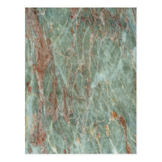Cartão Postal Sábio e mármore da oxidação