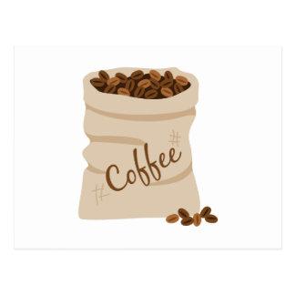 Cartão Postal Saco do café