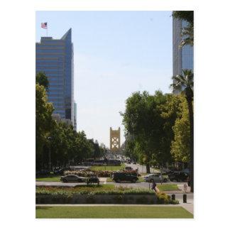 Cartão Postal Sacramento: Ponte da torre da alameda do Capitólio