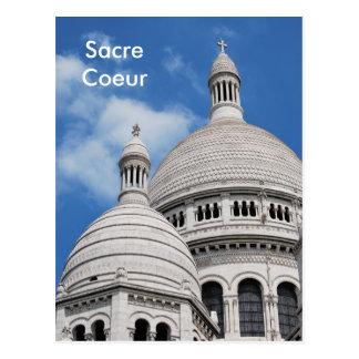 Cartão Postal Sacre Coeur