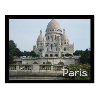 Cartão Postal Sacré-Cœur