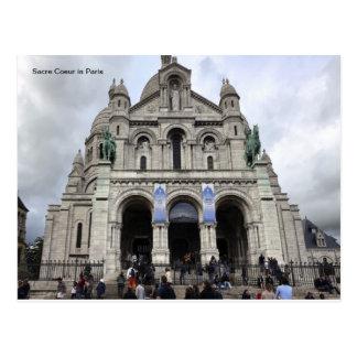 Cartão Postal Sacre Coeur em Paris