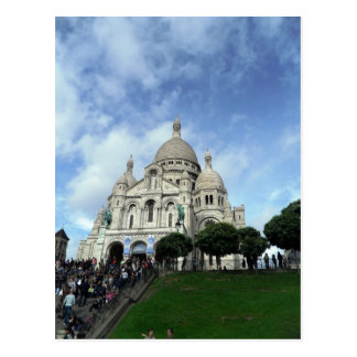 Cartão Postal Sacre Coeur Montmartre Paris