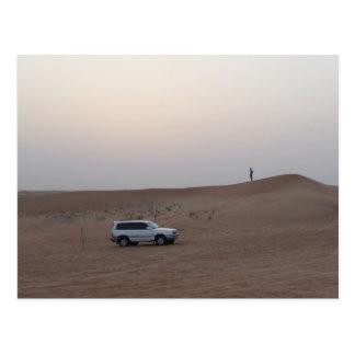 Cartão Postal Safari do deserto de Dubai