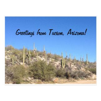 Cartão Postal Saguaro do sudoeste do deserto da arizona de