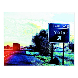 Cartão Postal Saída 542 Yolo Califórnia