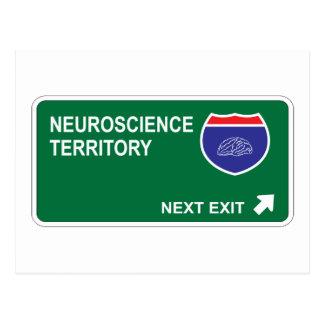 Cartão Postal Saída seguinte da neurociência