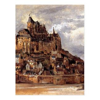 Cartão Postal Saint-Michel de Mont por Theodore Rousseau