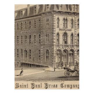 Cartão Postal Saint Paul pressiona a empresa