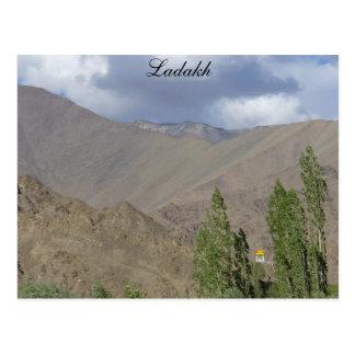 Cartão Postal Sala budista da oração, Saboo, Ladakh, India