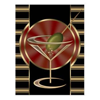 Cartão Postal Sala de estar de cocktail