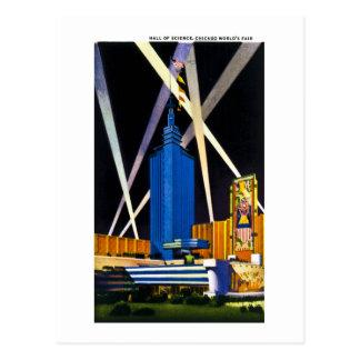 Cartão Postal Salão da ciência, a feira de mundo de Chicago