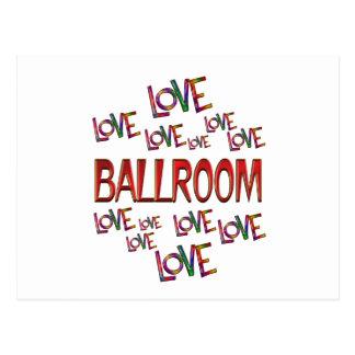 Cartão Postal Salão de baile do amor do amor