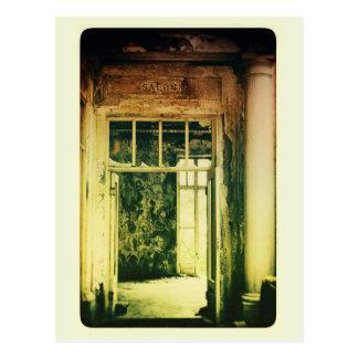 Cartão Postal Salão de beleza