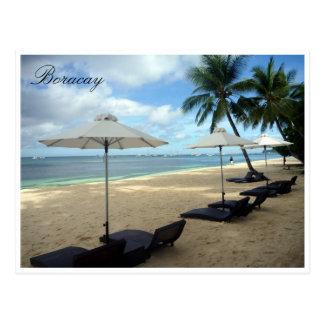Cartão Postal salas de estar de sol de boracay