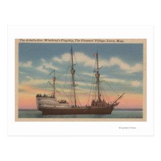 Cartão Postal Salem, MÃES - opinião Arbella do capitão Winthrop