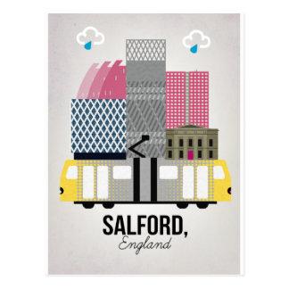 Cartão Postal Salford