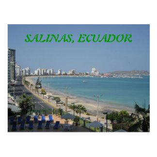 CARTÃO POSTAL SALINAS, EQUADOR