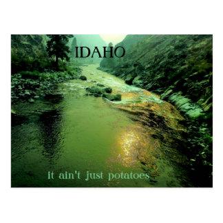 Cartão Postal Salmon River em Idaho